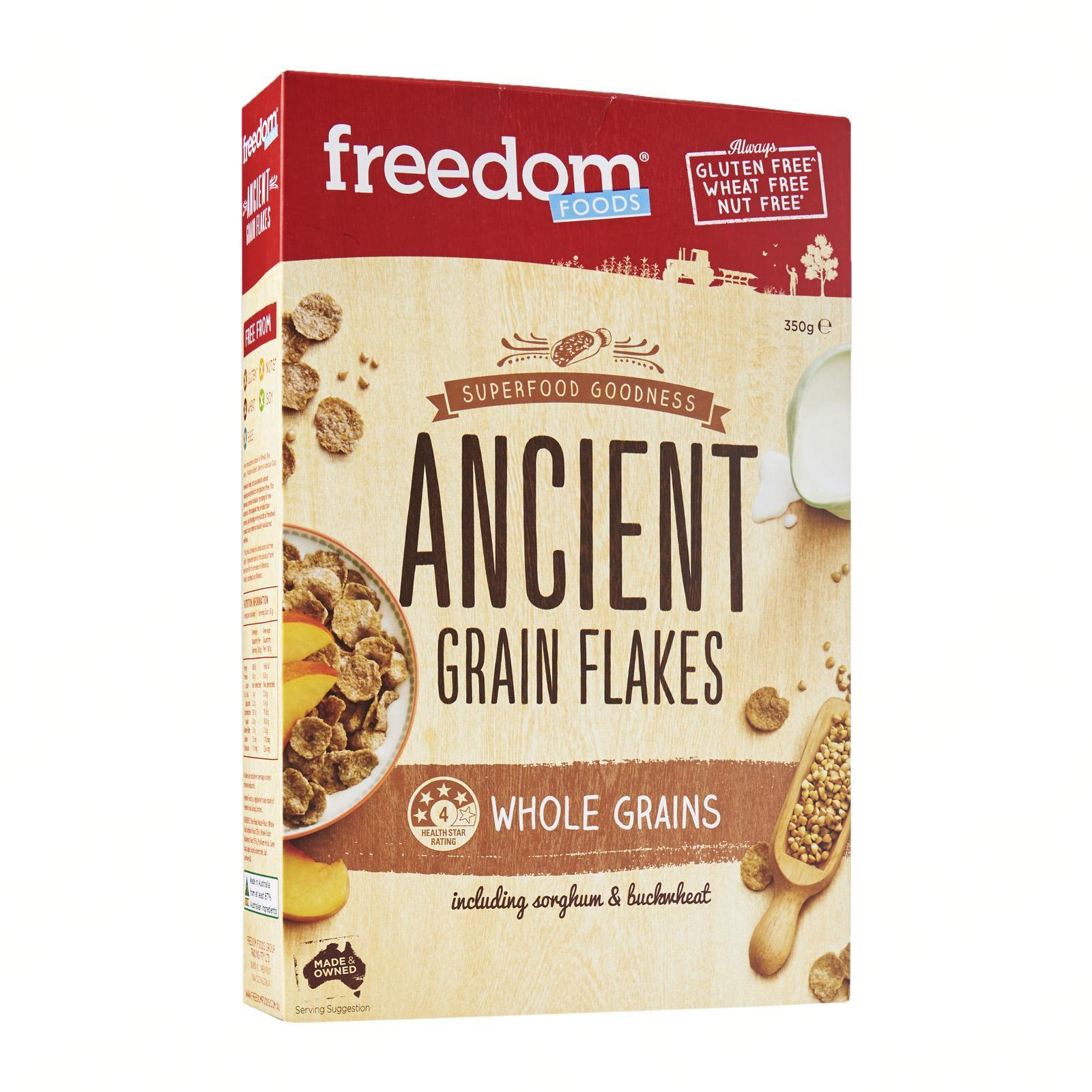 Freedom Foods Ancient Grain Flakes By Redmart.
