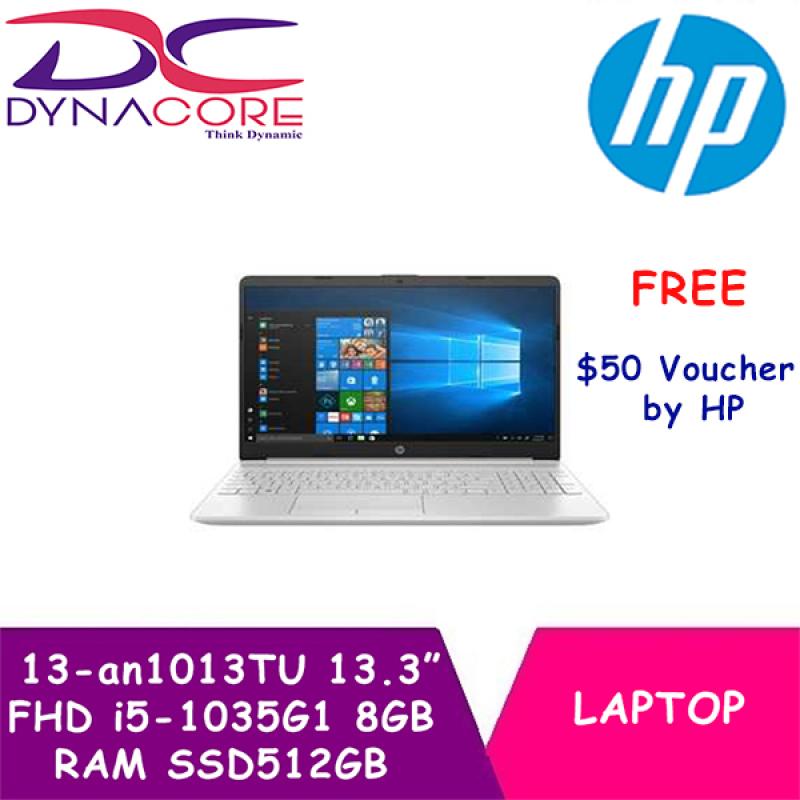 DYNACORE - HP Pavilion Laptop 13-an1013TU | 13.3 Inch FHD | 1.2kg | i5-1035G1 | 8GB RAM | SSD512GB | 2Yrs HP Onsite Warranty