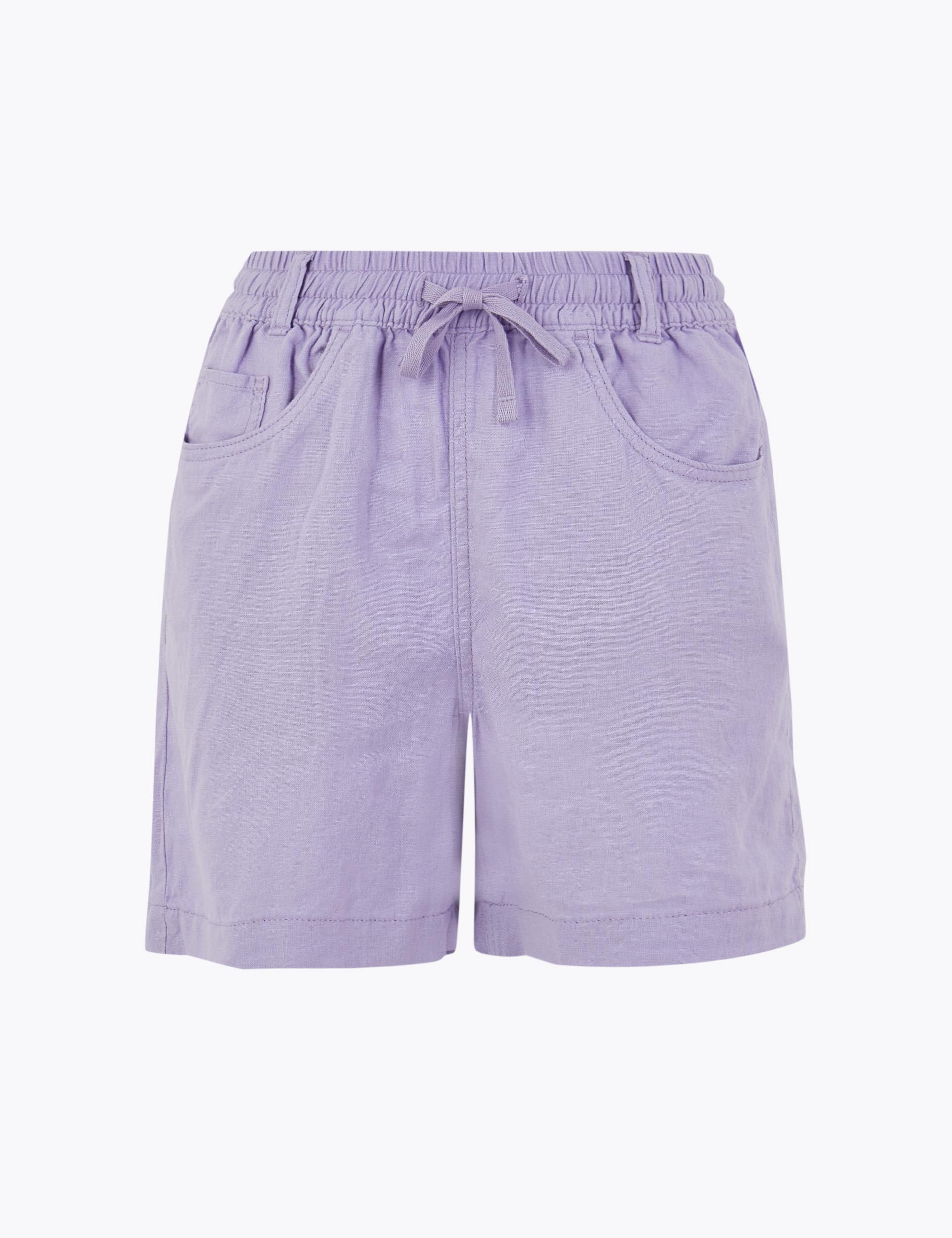 Linen Rich Shorts.
