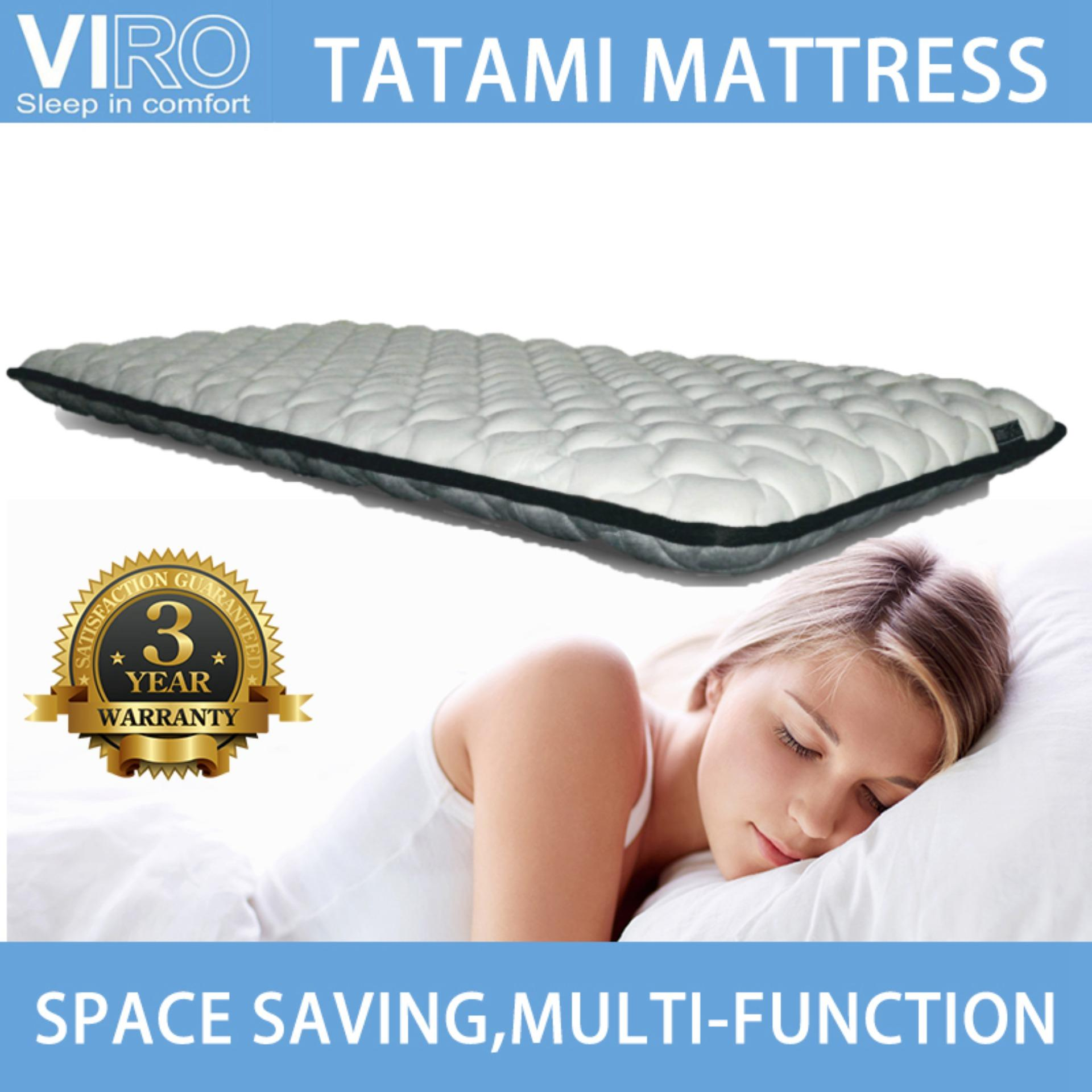 VIRO BRAND TATAMI MATTRESS SINGLE / SUPER SINGLE AVAILABLE / 3 YEARS WARRANTY /PLAY MAT/ DOUBLE SIDE USE