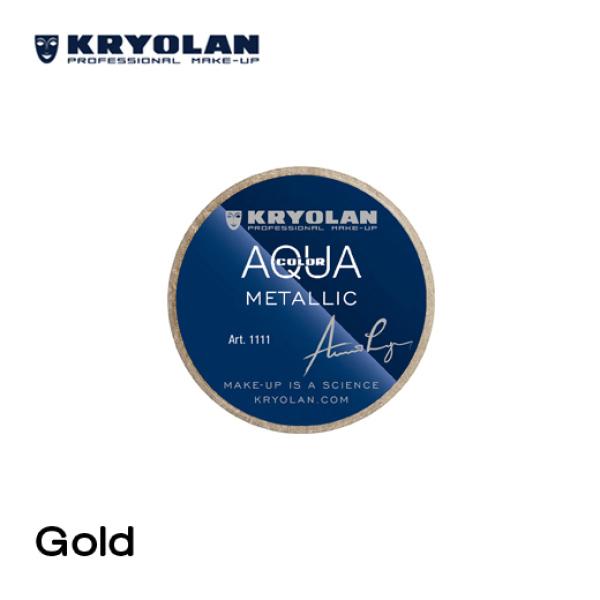 Buy COSMOPROF MAKEUP: KRYOLAN AQUACOLOR METALLIC 8ML Singapore