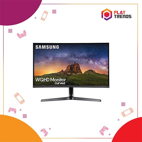 Samsung 27 WQHD Curved Monitor with 144Hz Refresh Rate - LC27JG50QQEXXS