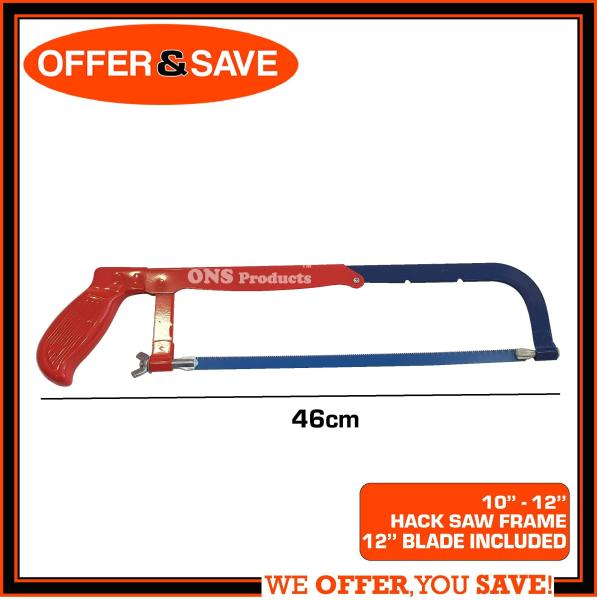 ONS Hacksaw Frame With Adjustable Blade 8 to 12
