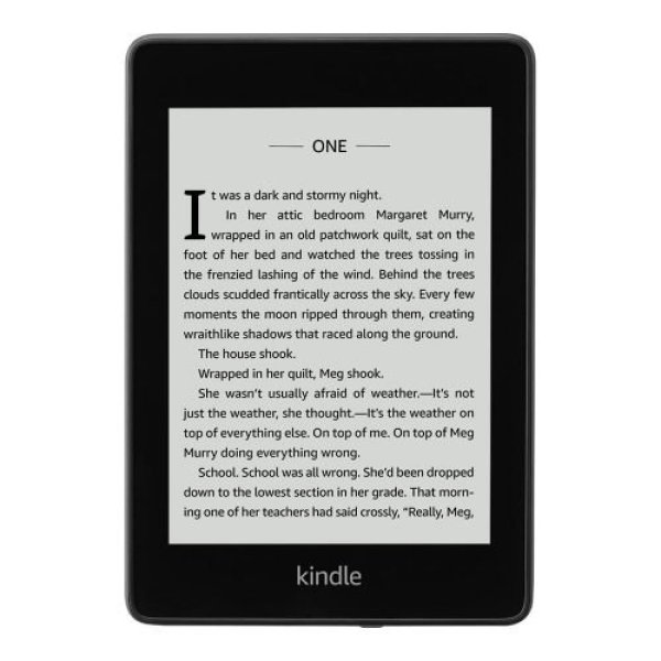 Amazon Kindle Paperwhite (10th Generation) - Waterproof - Black