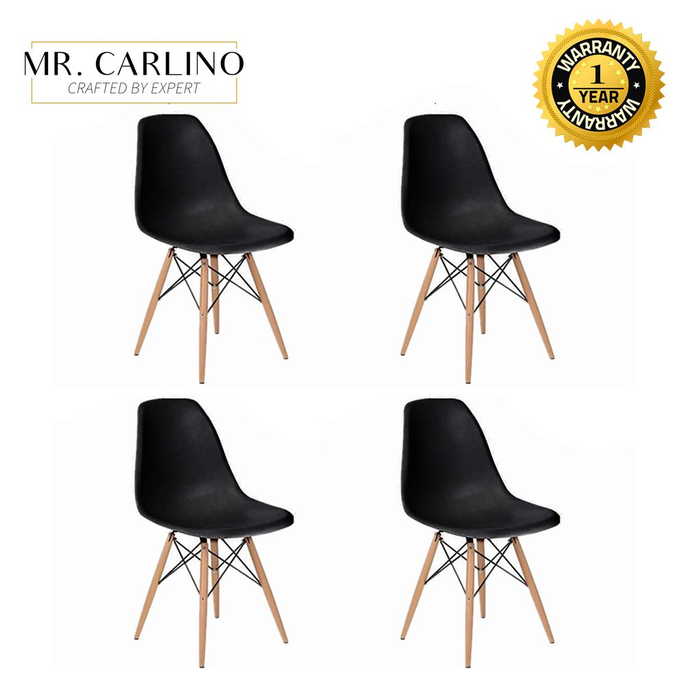 Set of 4 LOWRY Eames Designer Chair