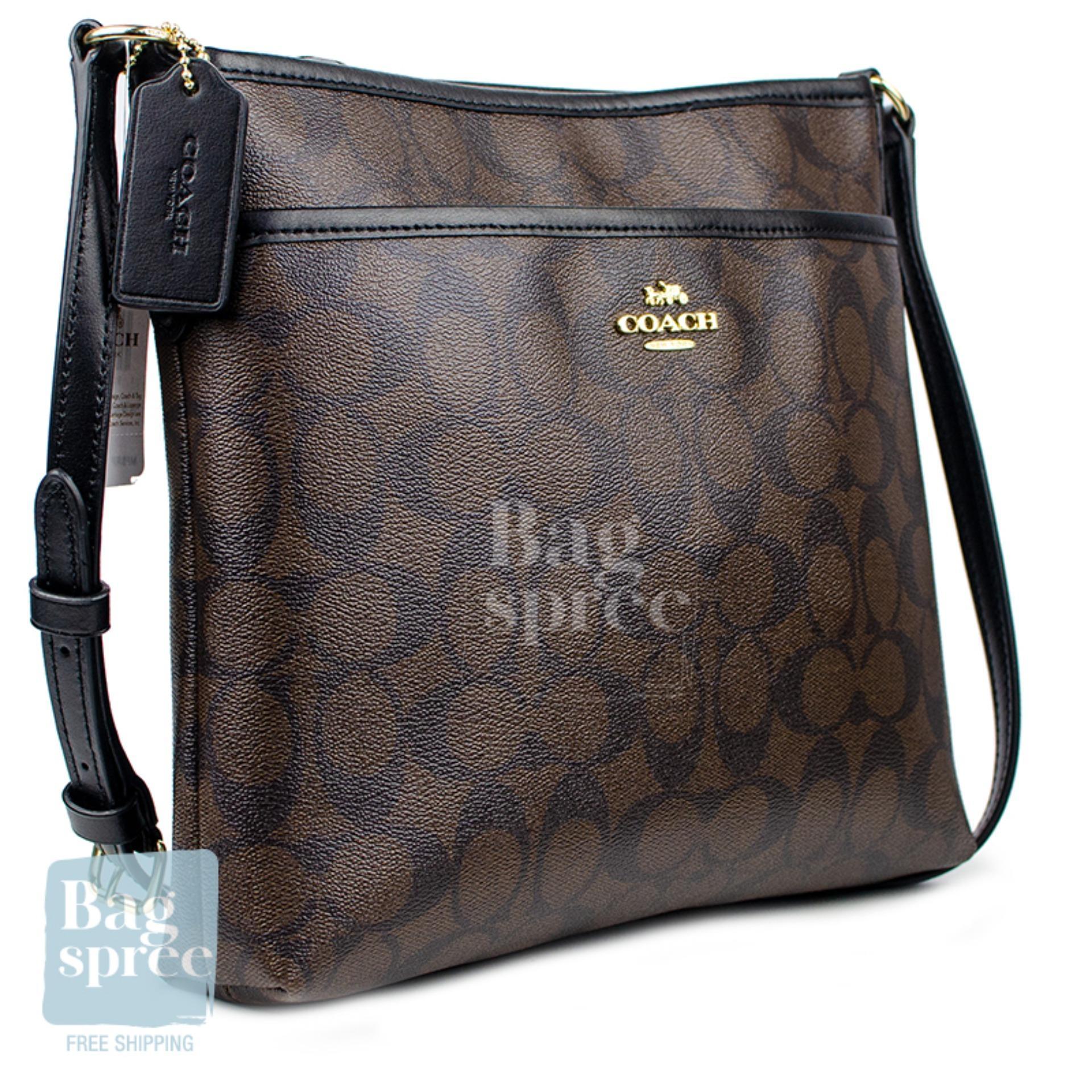 0f880e6d *Authentic & Brand New* Coach File Crossbody Canvas Bag F28035 F29210  F29960 [Gift Receipt Provided]