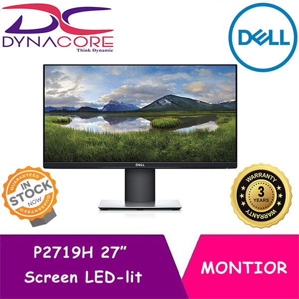 DYNACORE - Dell P2719H 27 Inch Screen LED-lit Monitor (3 Years Warranty)