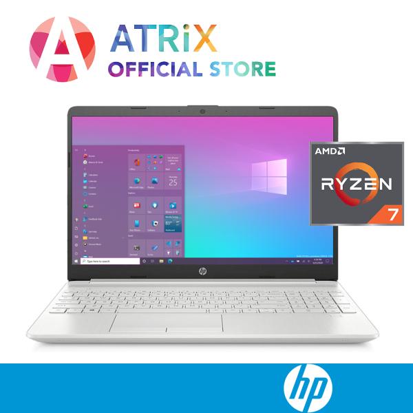 【Same Day Delivery】2020 HP notebook 15s 15s-eq0142AU〖Free Office 2019〗15.6inch FHD | AMD Ryzen 7 -3700U | Backlit Keyboard | 8GB DDR4 RAM | 512GB PCIe SSD | Radeon VEGA10 Graphics | Win10 Home | 1Y HP onsite warranty