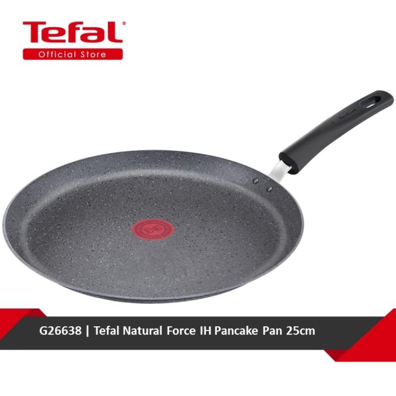 Tefal Natural Force IH Pancake Pan 25cm G26638 Singapore