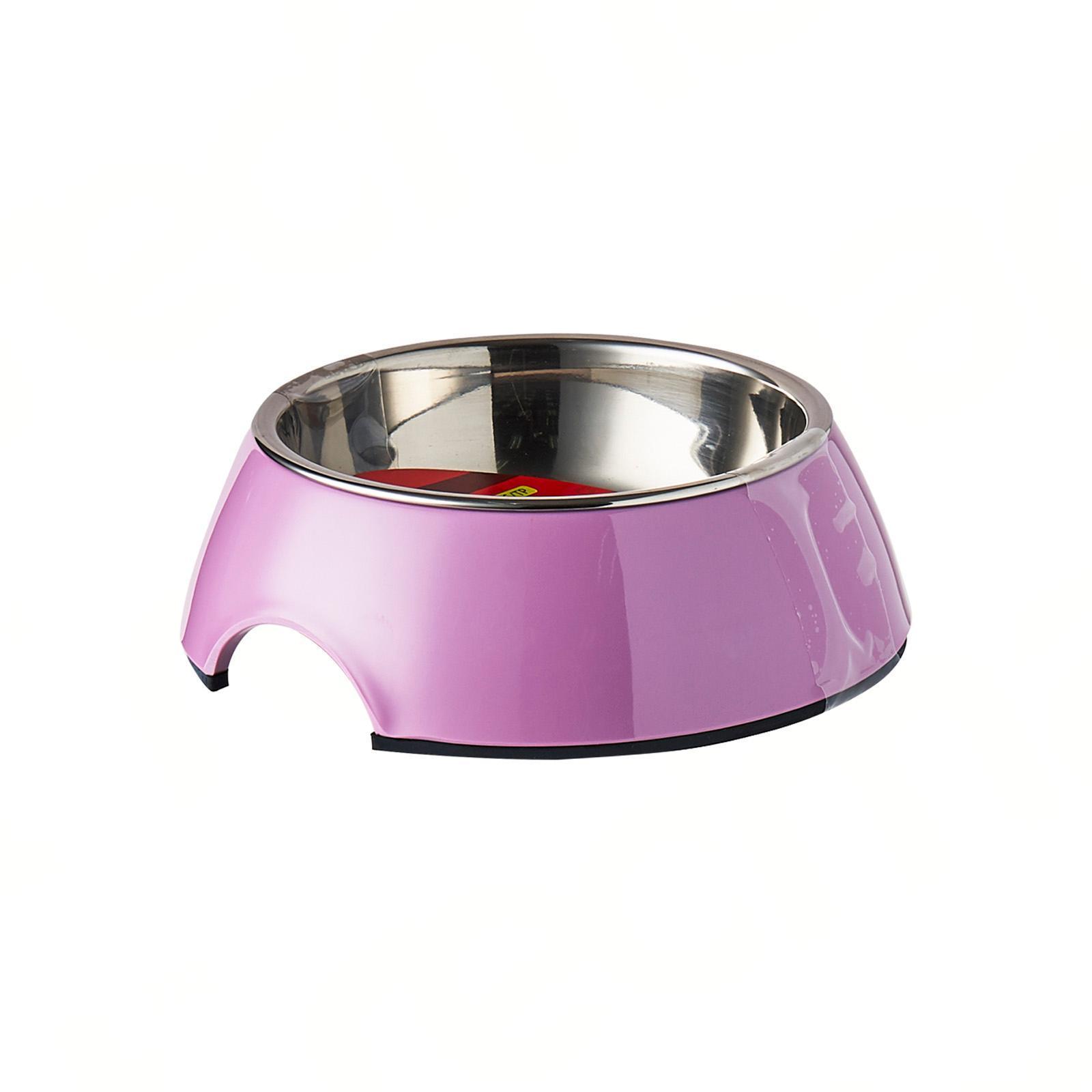 Dogit 2-In-1 Dog Dish- Xsmall Pink (160 Ml/5.4 Fl Oz)