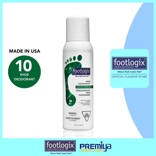Buy Footlogix® Shoe Deodorant Spray [With Tea Tree Oil] 125 mL [FOOTLOGIX® OFFICIAL FLAGSHIP STORE] Singapore