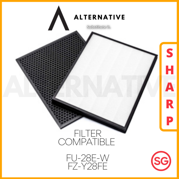 Sharp FU-28E-W FZ-Y28FE Compatible HEPA Filter Singapore