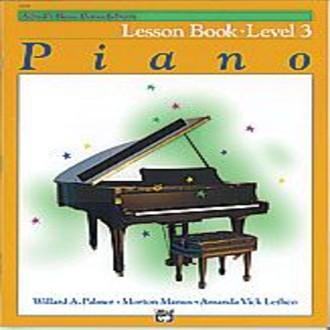 Alfred Basic Piano Library Lesson Book - Level 3