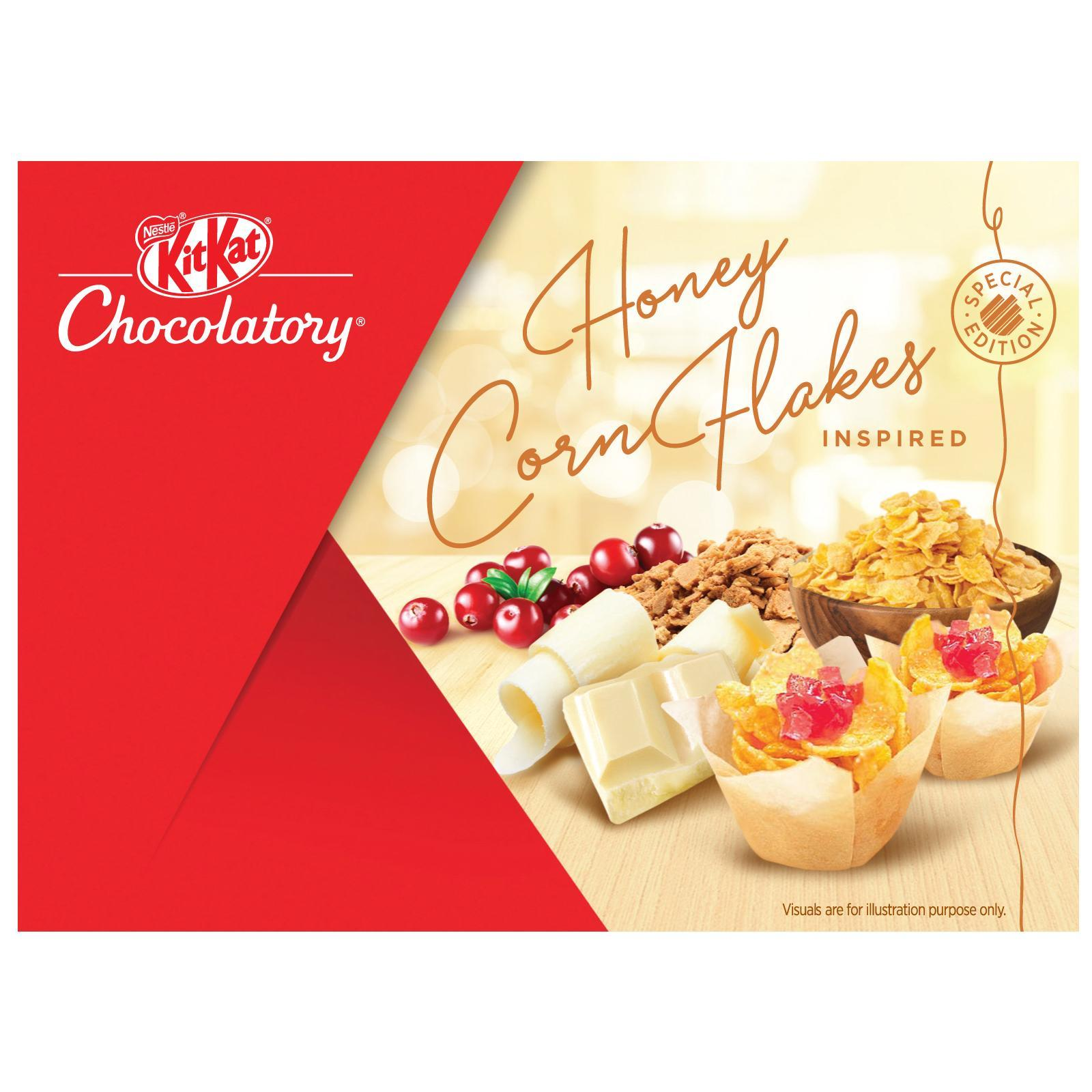 Nestle Kit Kat Chocolatory Corn Flakes And Cranberry (Special Edition)