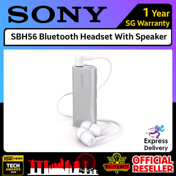 SONY SBH56 Bluetooth Headset with Speaker 3PM.SG 12BUY.SG Express Delivery Singapore