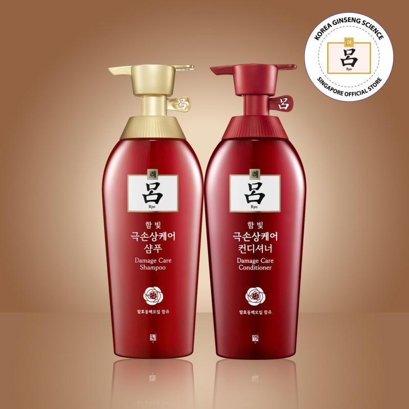Buy RYO [Bundle Pack] Damage Care Shampoo & Conditioner 400ml Singapore