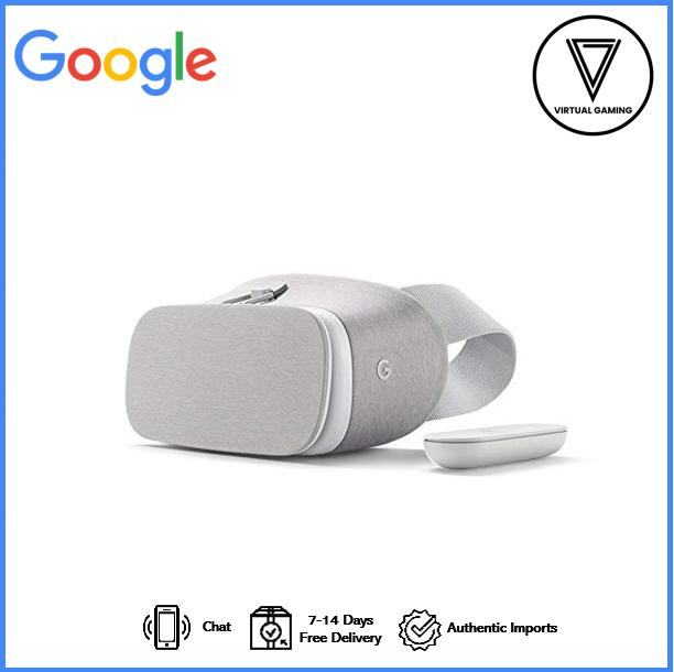 check out 3cb98 80772 Google Daydream View - VR Headset (Snow)