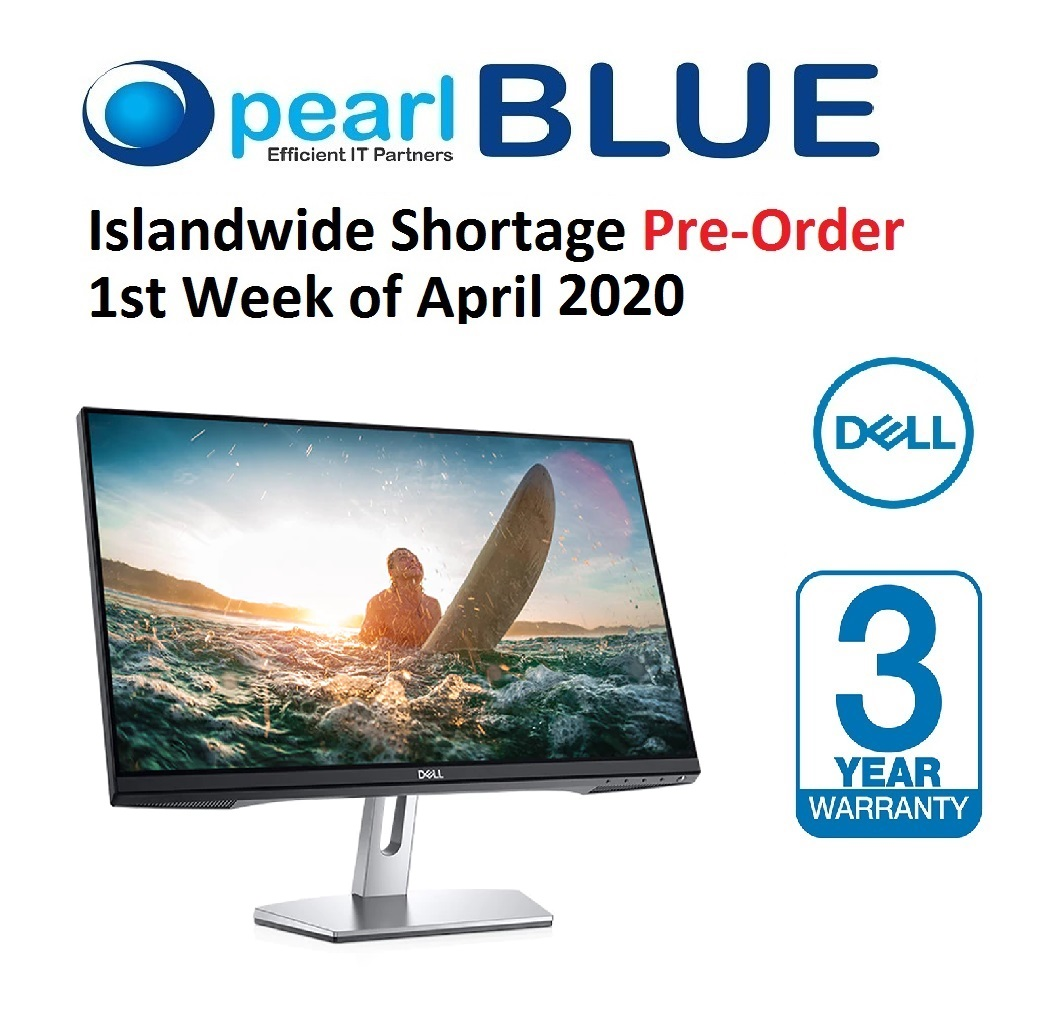 Dell 27 Monitor: S2719H  Immersive in every sense