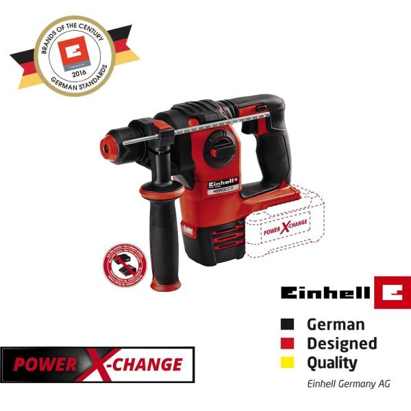 Einhell PXC HEROCCO Cordless Rotary Hammer [Battery not included]