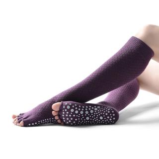 Hoa Kỳ Để Xem Nữ Dài Ống Yoga Năm Ngón Tay Mùa Hè Ngón Chân Thoáng Khí Chống Trượt Khiêu Vũ Sàn thumbnail