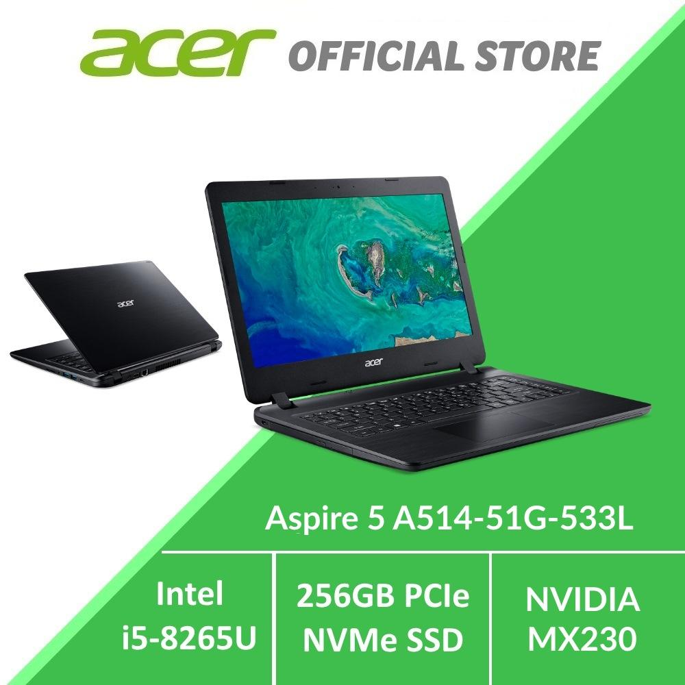 Acer Aspire 5 A514-51G-533L Laptop with NVIDIA MX230 Graphics Card