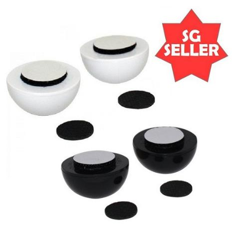 Laptop Notebook Stand Cool Ball + Skid proof Pad + Heat Reduction 1 Pair
