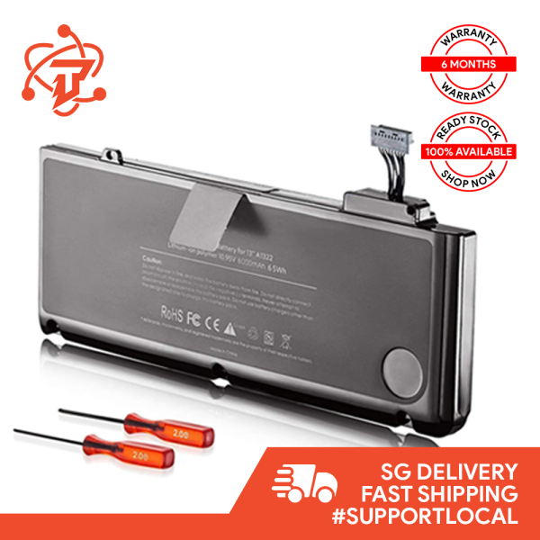 Original Battery for Macbook Pro 13 inch A1278 2009 - 2012 (Battery Model: A1322)