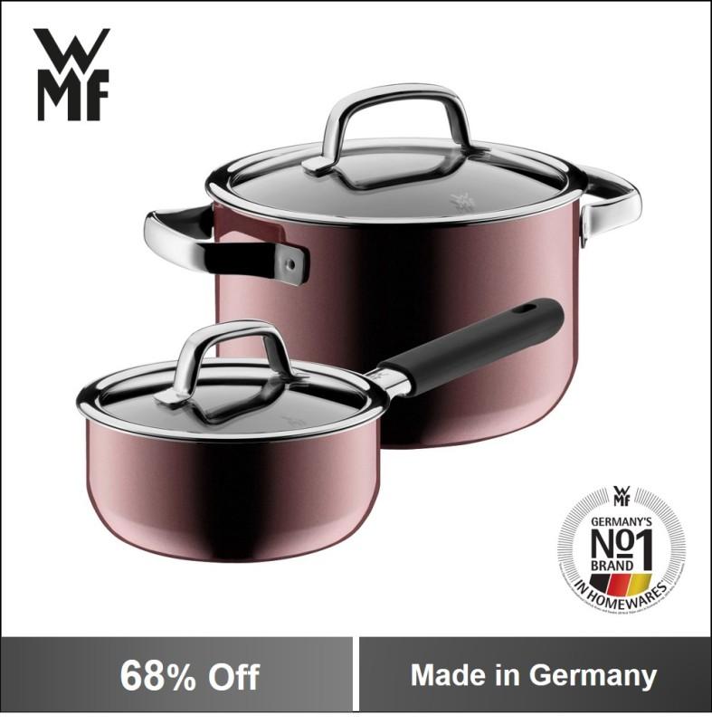 WMF Fusiontec 2PC Cookware Set Rose Quartz Singapore