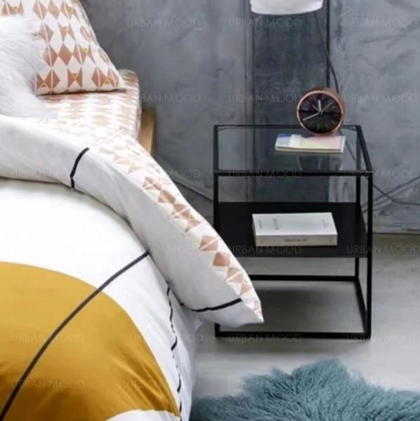 [PRE-ORDER] CEDAR Minimalist Wireframe Bedside Table