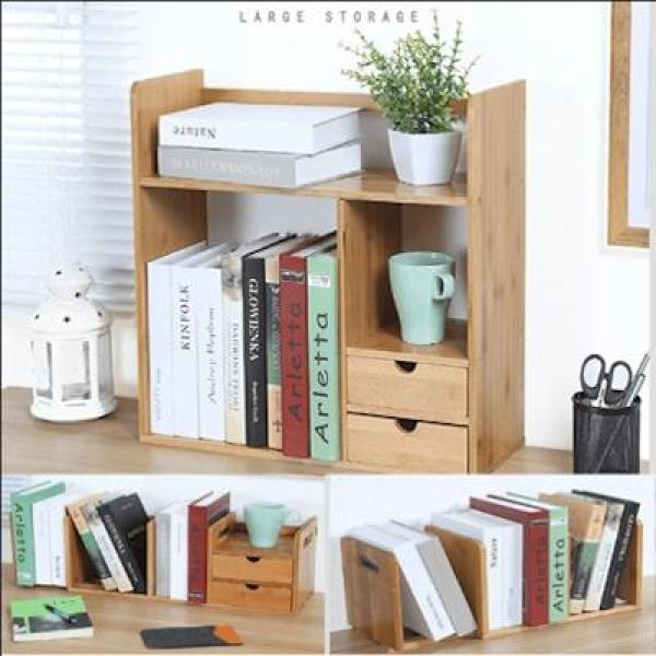 MISSHER Table Bookshelf /Multi-layer Bookshelf / Space saving Bookrack/ Big Volume Book rack