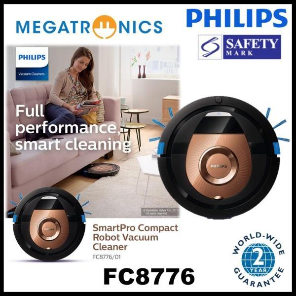 Philips SmartPro Compact Robot Vacuum Cleaner - FC8776/01 - 2 years warranty Singapore