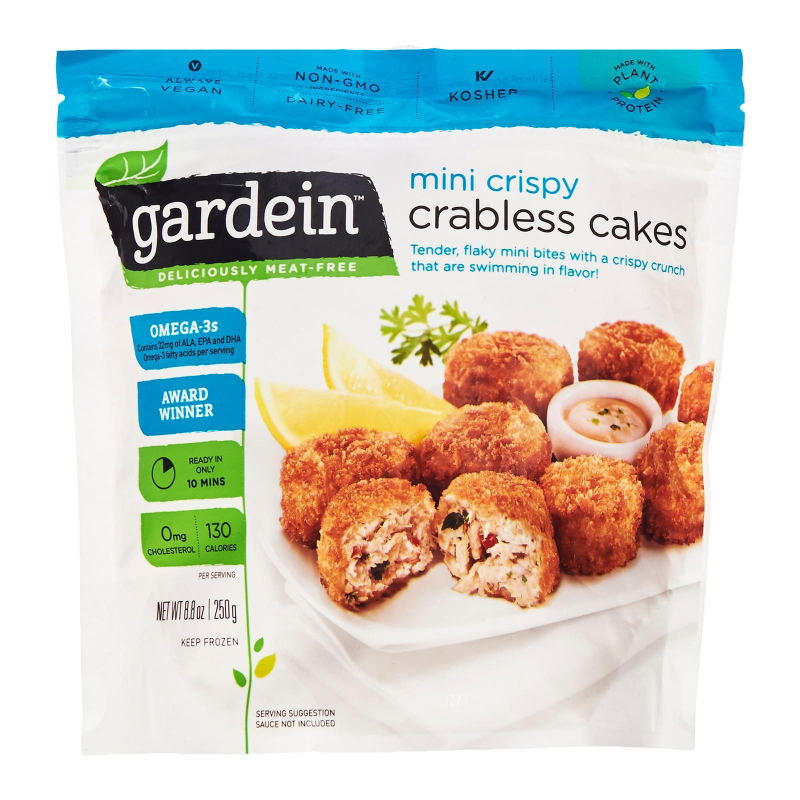 Gardein Mini Vegetarian Crabless Cakes - Frozen