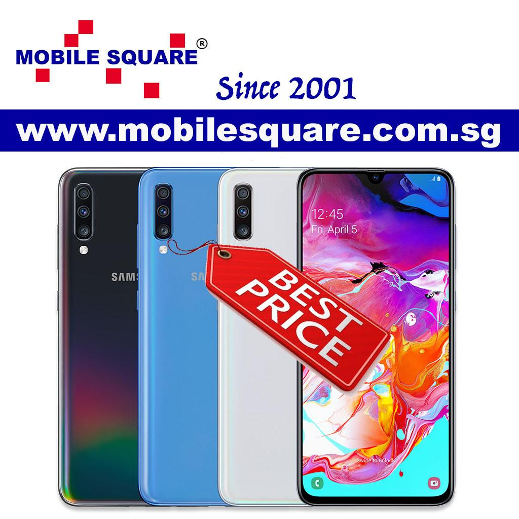 Samsung Galaxy A70 (128GB/6GB RAM)- Local Set/1 Year Samsung Singapore  Warranty