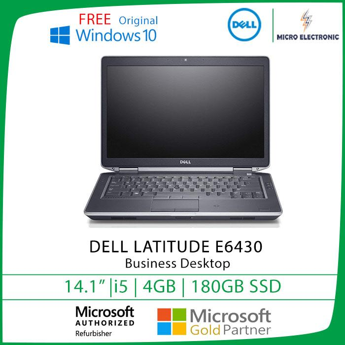 Dell Latitude E6430 Business Laptop 14 HD Intel Core i5 4GB 180GB SSD Windows 10 Refurbished Pc Computer Digital Electronics
