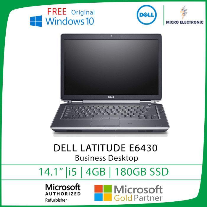 Dell Latitude E6430 Business Laptop 14 HD Intel Core i5 4GB 180GB SSD Windows 10 Refurbished Pc Computer Digital Electronics