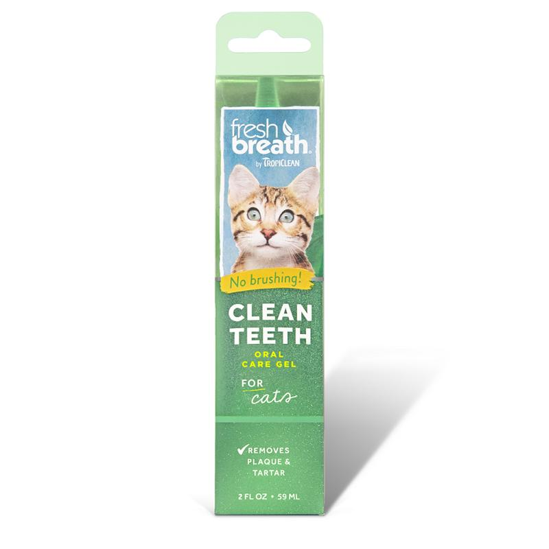 Tropiclean Fresh Breath Oral Care Gel For Cats By Singpet.
