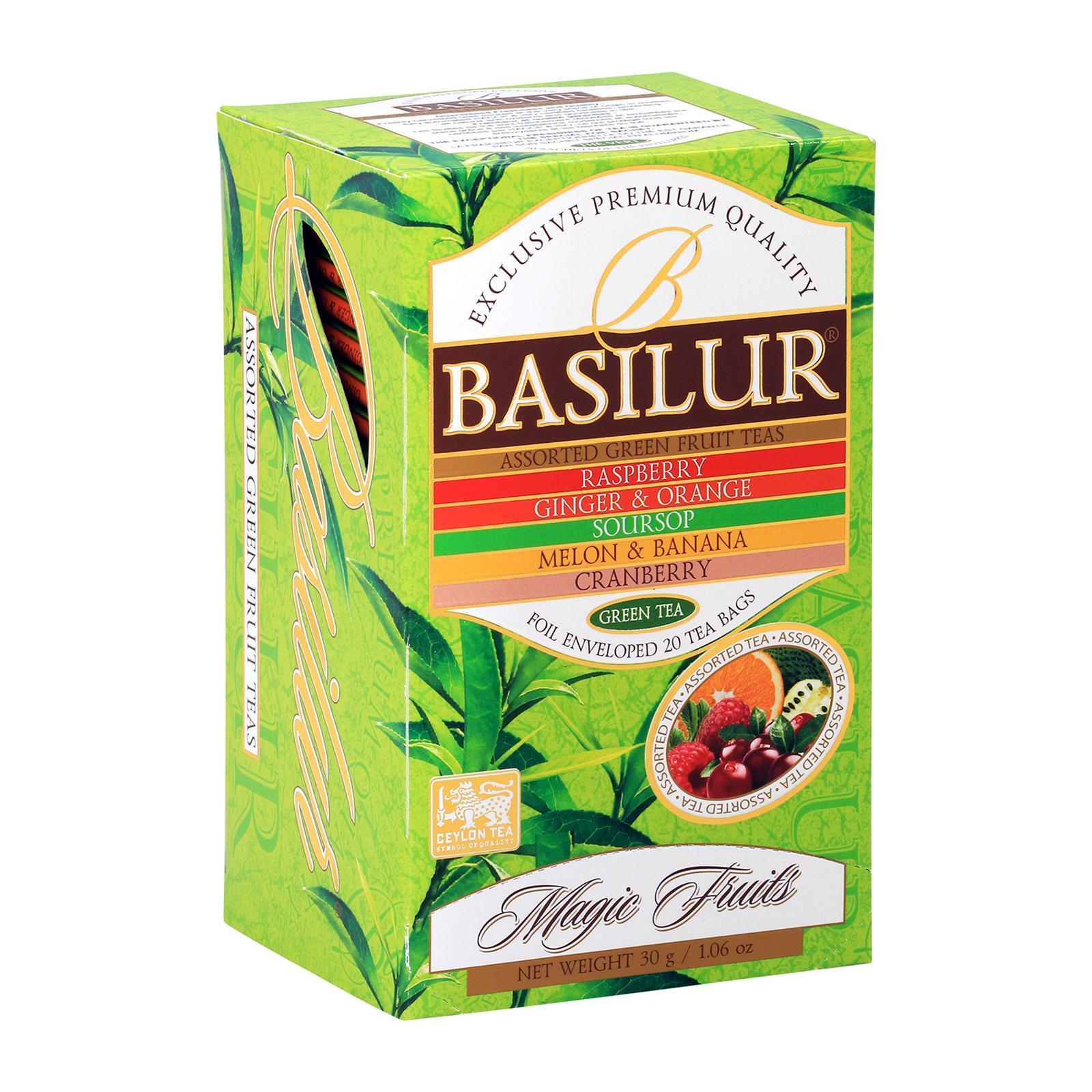 Basilur Magic Fruit Assorted Green Tea