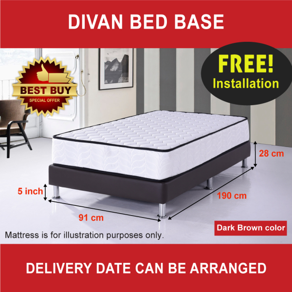 Divan Bed Base - Single size