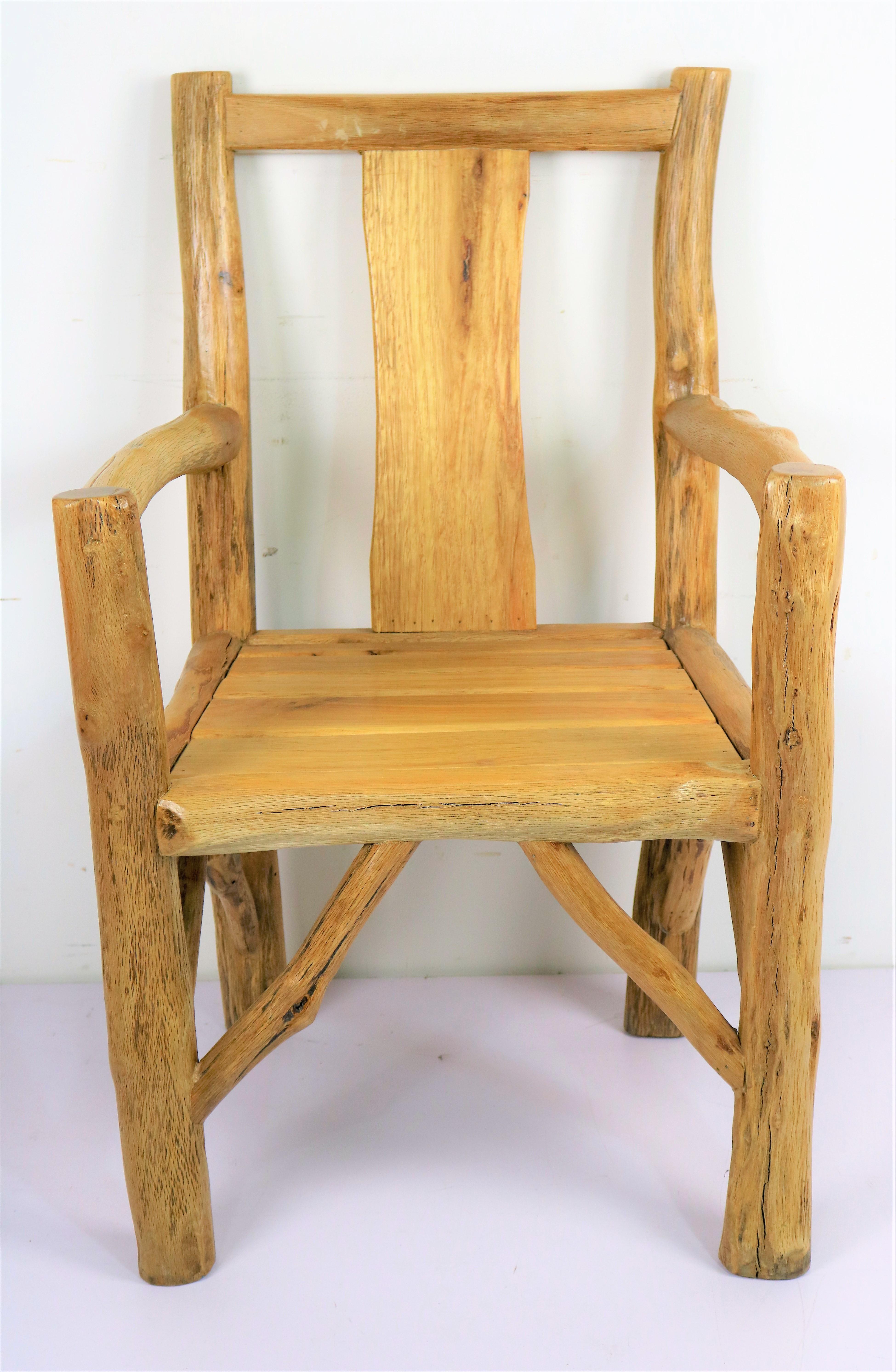 Wood Brunch Rustic Armchair