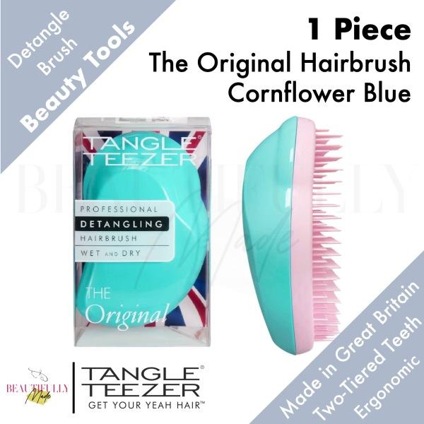 Buy Tangle Teezer The Original Hairbrush Cornflower Blue / Turquoise Pink - Detangler Untangle Every Strand of Hair Quickly & Gently • Multiple Award Winner Singapore