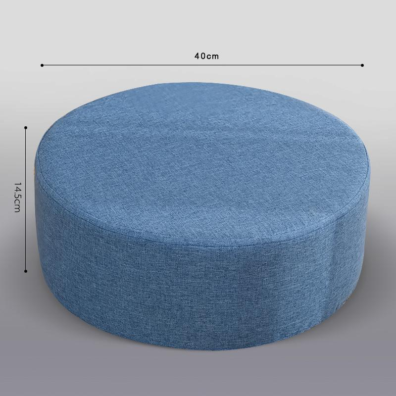 Fabric Futon throw pillow Washable Tatami Mat Thick Circle Floor Small Stool Living Room Teapoy Table Bay Window throw pillow