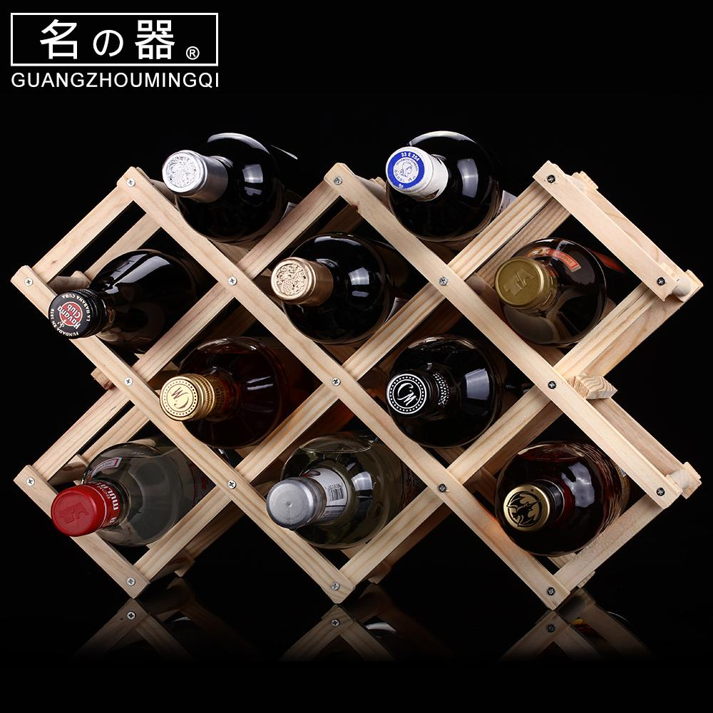 Name Is Solid Wood Wine Rack Ornaments Grape Wine Rack Creative Wood Wine Rack Wooden Wine Rack Wood By Taobao Collection.