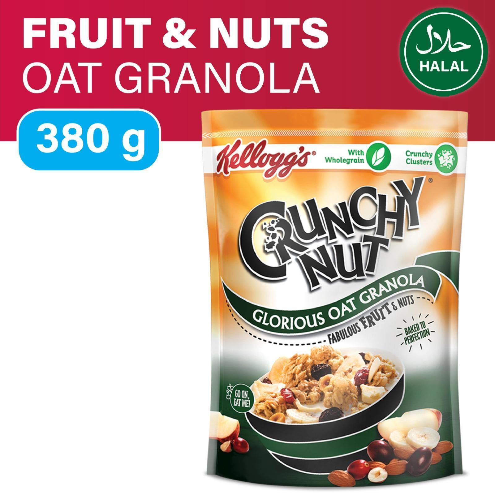 KELLOGG'S Crunchy Nut Oat Granola Fruit&Nuts 380g