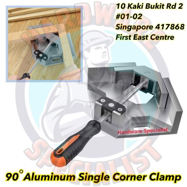 90 Degree Aluminum Single Corner Clamp (Woodworking Clamp)