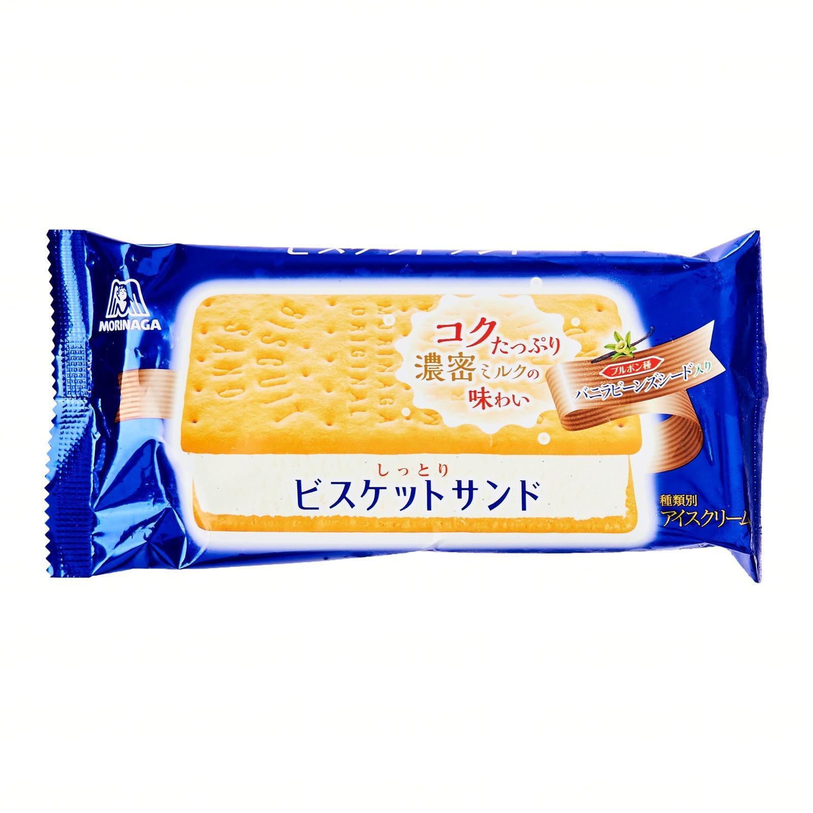 Morinaga Biscuit Ice Cream Sandwich - Frozen - Jetro Special