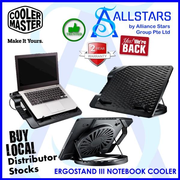 (ALLSTARS : We Are Back Promo) CM / COOLERMASTER / Cooler Master ERGOSTAND III NOTEBOOK COOLER (R9-NBS-E32K-GP)-WRTY 2YRS W/BANLEONG