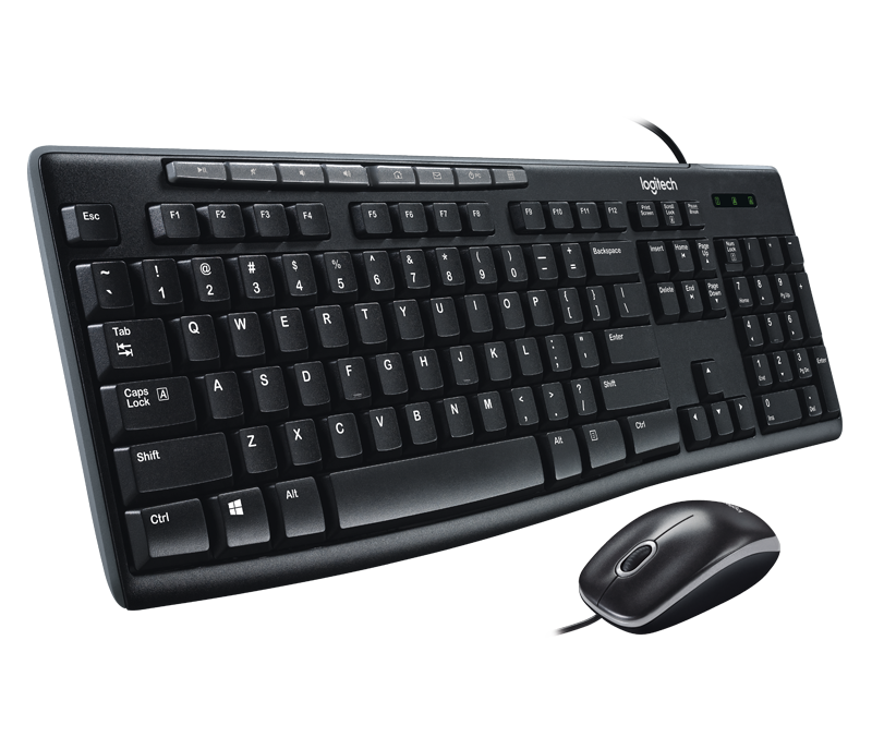 Logitech MK200 Wired Combo with Music Controls / 3 Years Local Distributor Warranty Singapore