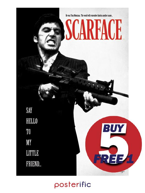 Scarface (Say Hello to My Little Friend) - Pyramid International Maxi Poster (61 cm X 91.5 cm)