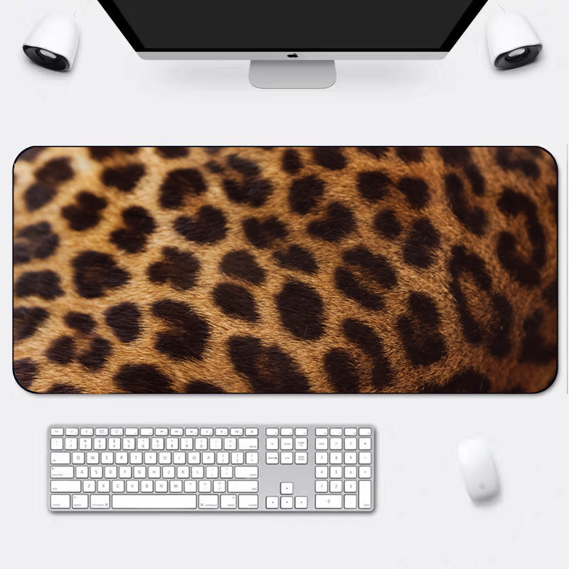 Non-Slip Waterproof Customized Animal Game Mouse Pad Mat For MAC / PC / Laptop Computer Large Size Durable
