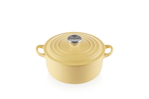 Le Creuset Round French Oven 20cm, Classic (Mimosa) Singapore